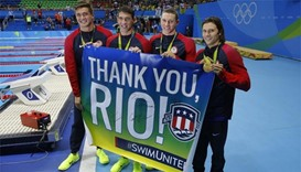 Phelps wins last relay gold as US dominate