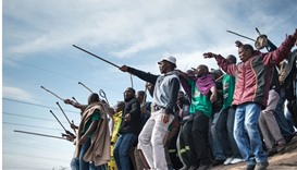 South Africa's ANC under fire four years after Marikana massacre