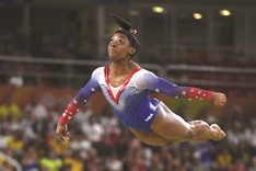 Record-equalling fourth gold for Biles
