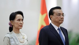 Suu Kyi meets Chinese PM; to sign deals on hospitals, bridge