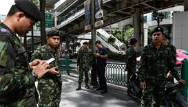 15 detained by Thai military over tourist town attacks
