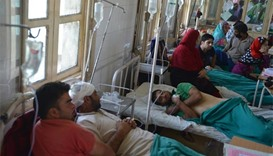 Hospital in Kashmir filled with beating, shooting victims