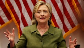 Clinton must give written testimony in e-mail case: US judge
