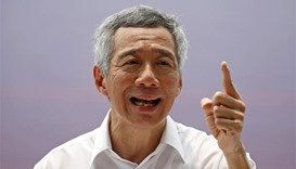 Singapore PM's illness at rally caused by heat, dehydration