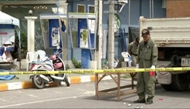 Thailand bomb attacks the work of 'at least' 20 people