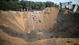 Israel launches 'dozens' of Gaza strikes after rocket attack