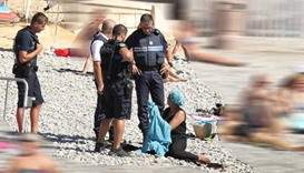 Viral photos add fuel to French burkini debate