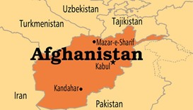 Roadside bomb kills nine Afghan policemen