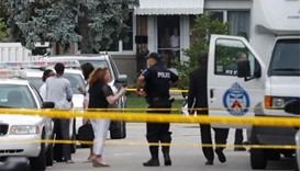 Man charged after three die in Toronto crossbow attack