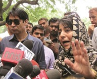 Mehbooba seeks talks with 'all stakeholders' to end crisis