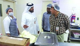 Doha Municipality has intensified inspection campaigns on all food outlets