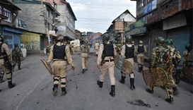 Curfew reimposed in Kashmir after fresh clashes