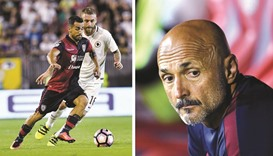 Newbies Cagliari come from two down to hold Roma