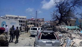 Car bomb kills 5 soldiers outside Somali president's palace