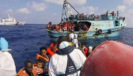 6,900 migrants rescued from Mediterranean in one day