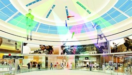 Visual treat awaits Mall of Qatar visitors