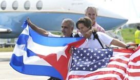 Inaugural commercial flight from US lands in Cuba