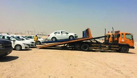 110 abandoned vehicles removed
