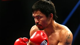 Pacquiao vows to leave Australia as world champion
