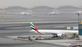 Dubai airport operating with one runway after Emirates crash