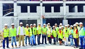 New Philippine School building nearly 50% complete