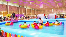 Attractions galore at colourful summer festival