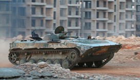 fierce fighting in Aleppo