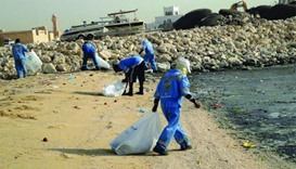 Ministry conducts clean-up campaign