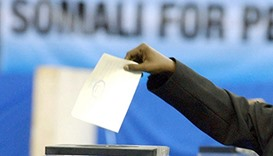 Somalia sets presidential vote for October 30