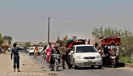 Thousands flee fierce fighting in Afghanistan's Helmand