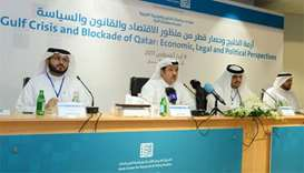 Doha meeting looks at options to 'challenge blockading countries'