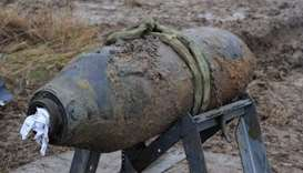Unexploded WWII bomb found at Japan