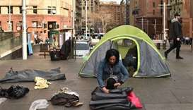 Sydney homeless 'tent city' packs up after new law