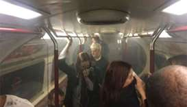 Small fire extinguished on London Underground train