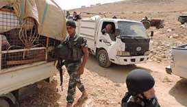 Syrian rebels to pull out of Lebanon border enclave