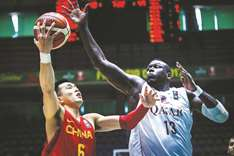 Guo scores 30 points to lead China past Qatar