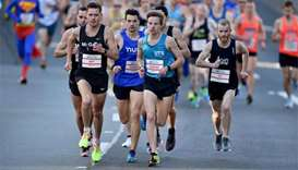 More than 80,000 hit Sydney streets for City2Surf fun run