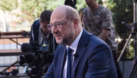 Germany's Social Democratic Party candidate for chancellor Martin Schulz
