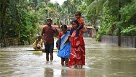 More than 75 dead in monsoon fury across India