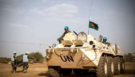 UN peacekeepers in Mali. File picture