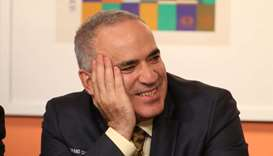 Kasparov comes out of chess retirement 'kicking and fighting'