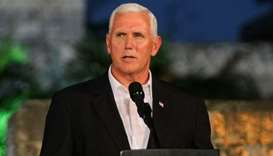 Pence says 'failed state' in Venezuela threatens US