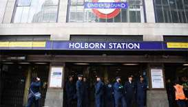 London's Holborn underground station reopens after evacuation