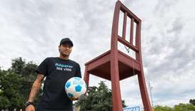 Neymar becomes goodwill ambassador for world's disabled
