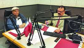 Prominent journalist Ashraf Siddiqui was a guest on the live radio show Haqeeqat on Qatar Urdu Radio