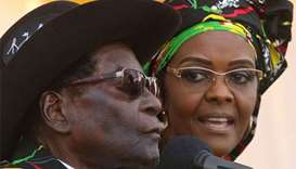 Mugabe in South Africa after wife is accused of assault