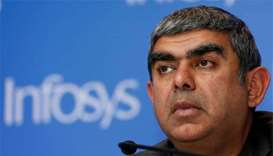 Infosys chief executive quits in rift with founders