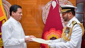 Sri Lanka names first Tamil navy chief since 1970