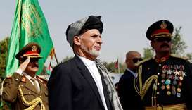 Afghan President Ashraf Ghani attends Afghan Independence Day celebrations in Kabul