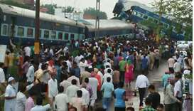 10 dead as train derails in India